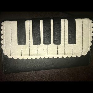 Betsey Johnson wallet piano